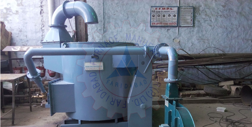Aluminium Melting Hydraulic Tilting Crucible Furnace Exporters In Bangalore