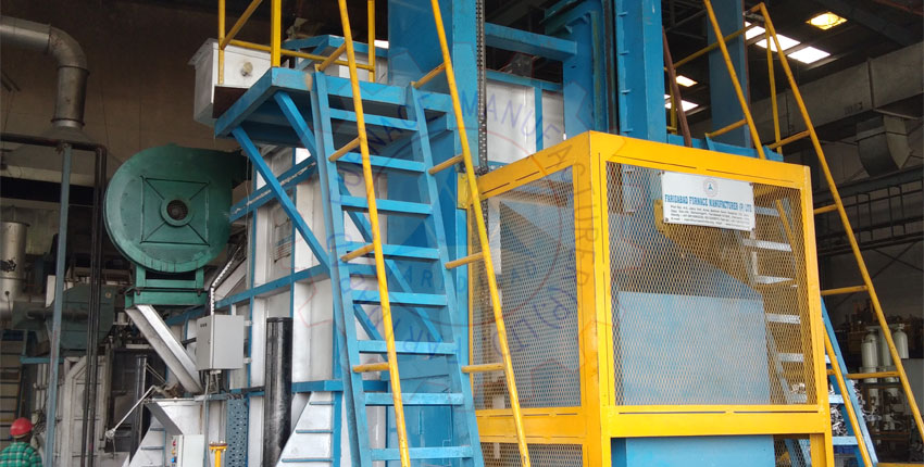 Aluminium Melting Hydraulic Tilting Tower Furnace Suppliers from India
