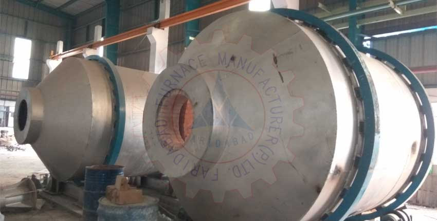 Aluminium Melting Rotary Furnace Exporters from India