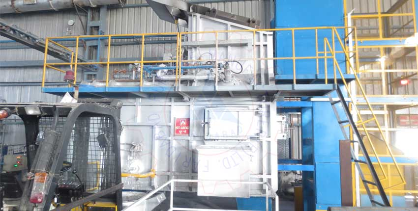 Aluminium Melting Tower Furnace Exporters from India